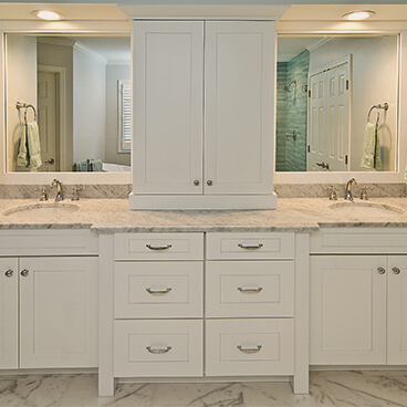 Bathroom Cabinets  Custom Cabinet Solutions