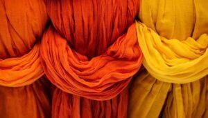 fabric dye weave