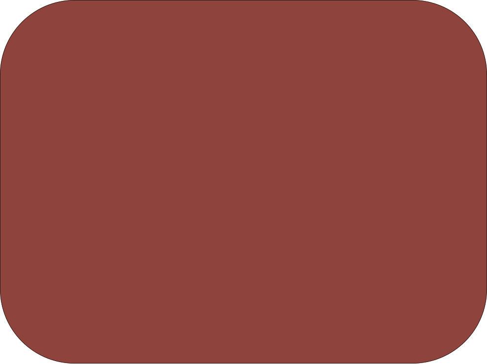 Reddish Brown Fondant Color