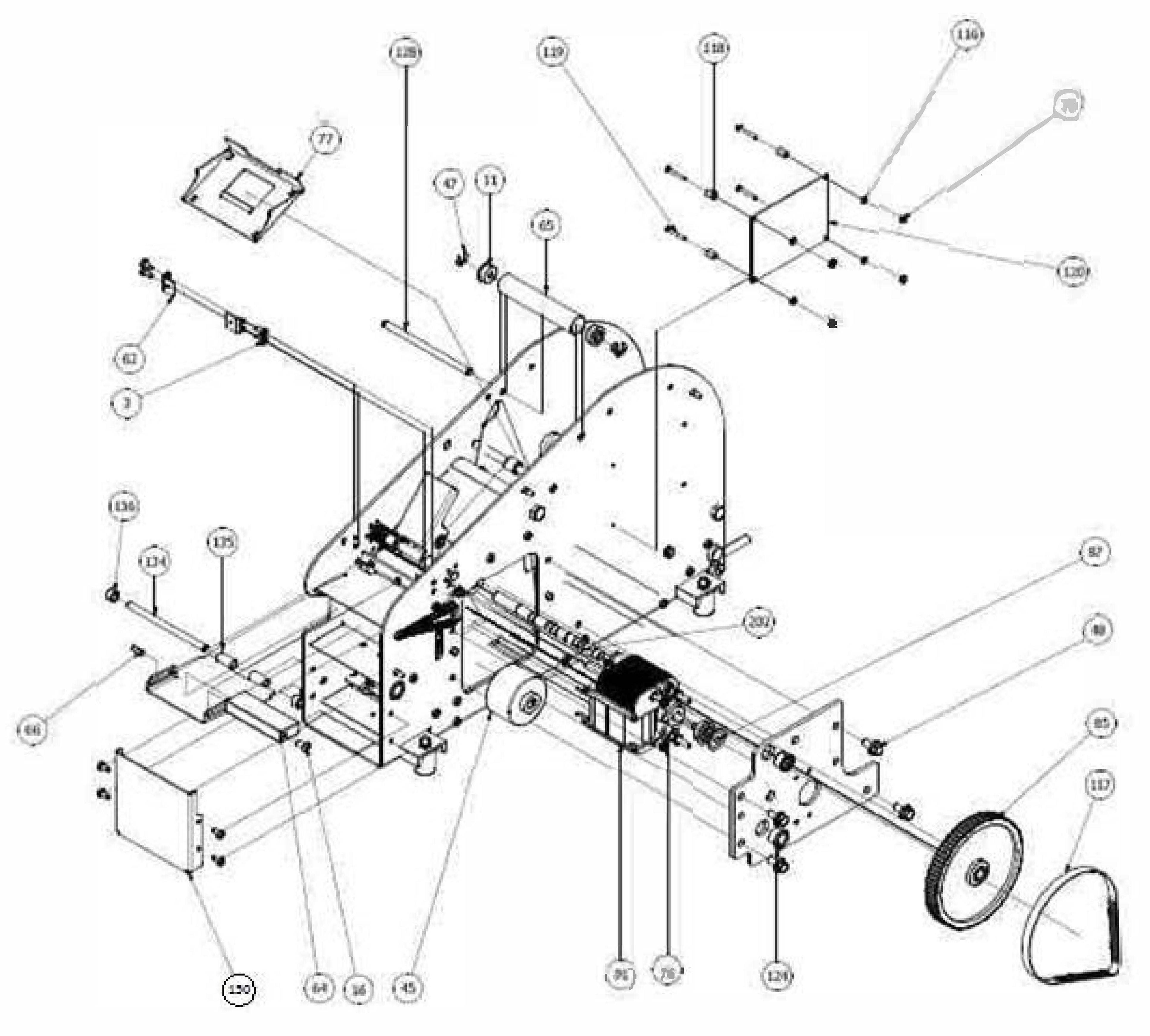 RP42811 220V Motor