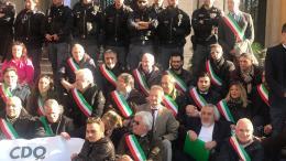 AUTOSTRDE PROTESTA ROMA 5 Dic. 2018 (2)