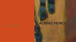 LOCANDINA PER MOSTRA DEL PITTORE ALBINO MORO