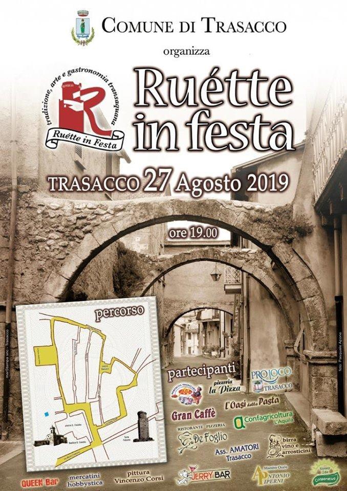 RUETTE IN FESTA TRASACCO 2019