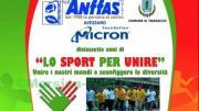 locandina sport per unire