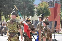 passaggio della Bandiera di Guerra del 9° reggimento alpini (3)