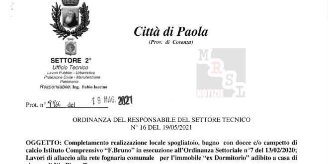 ordinanza iaccino paola