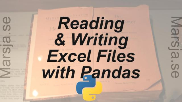 Pandas Excel Tutorial: How to Read and Write Excel files -