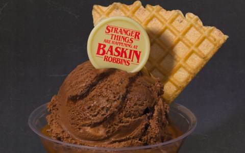 stranger things ice cream
