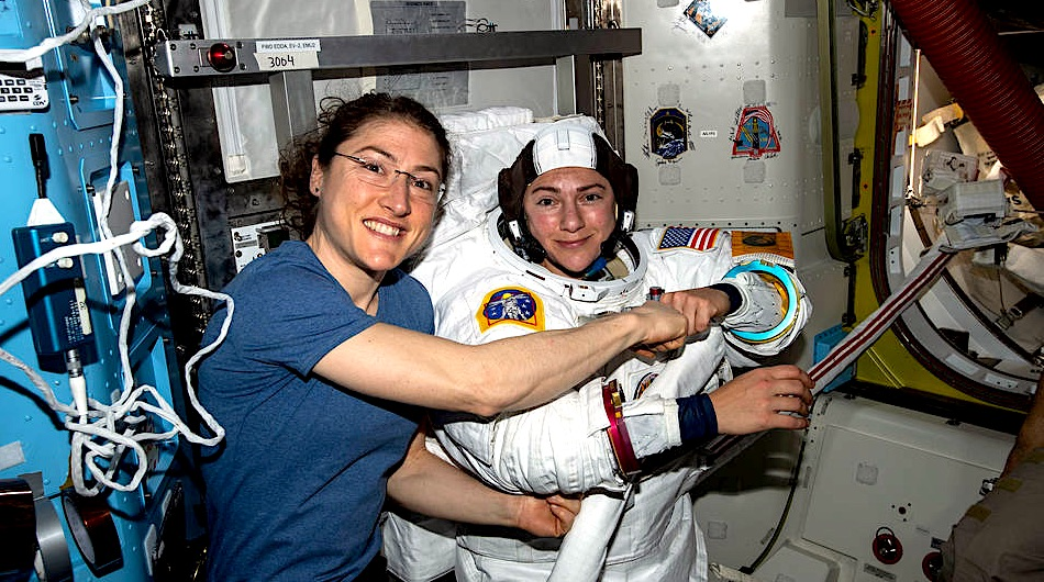 nasa all woman spacewalk