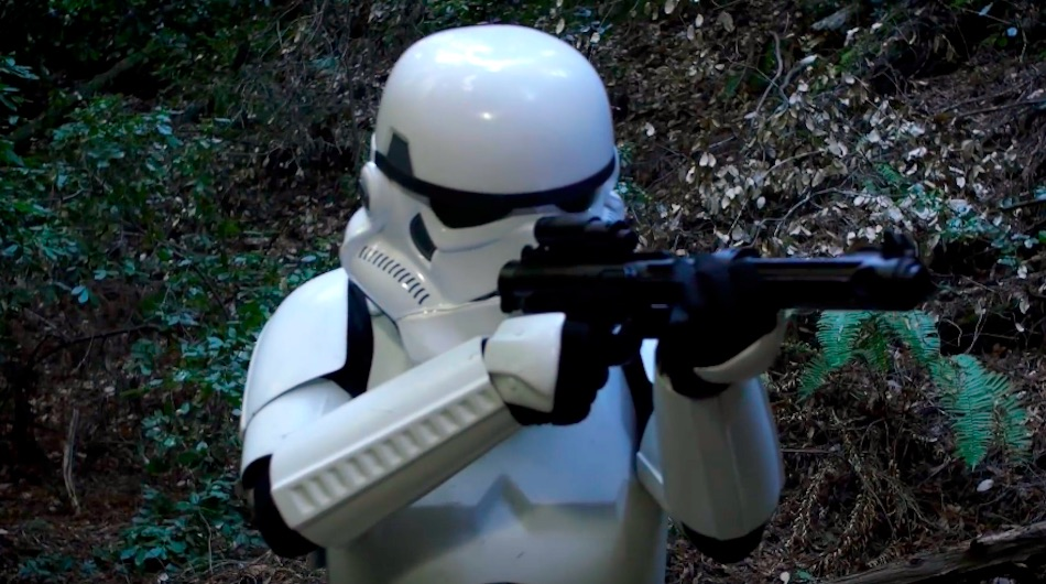 ALONE : Stormtrooper on the Run