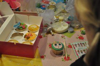 cupcake partijtje