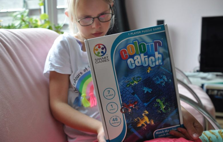 review smartgame spelletje colour catch