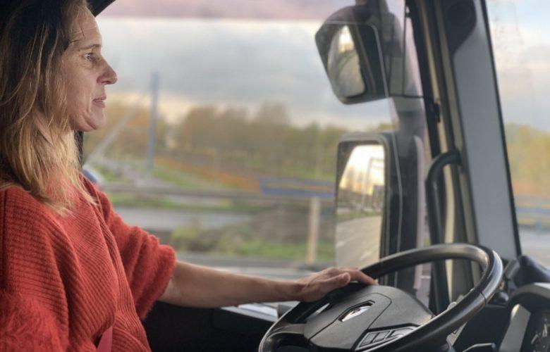 vrachtwagenchauffeur vrouw