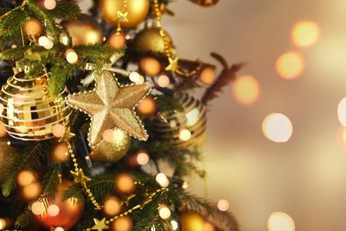 gouden kerst