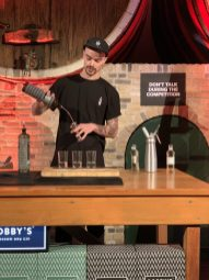 bobby's dry gin cocktail