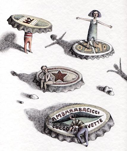 INKS & WATERCOLORS