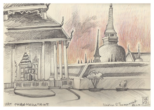 SOUTH EAST ASIA - TRAVEL SKETCHBOOK