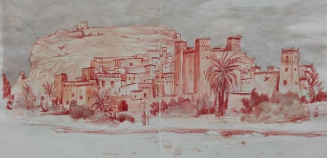 MAROC - TRAVEL SKETCHBOOK