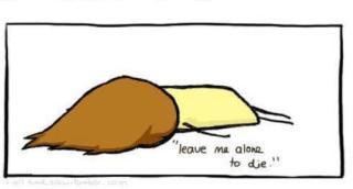 leave me alone to die zostawcie mnie bym umarłą beznadzieja depresja smutek dziewczyna rysunek kwejk