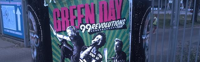 99 revolutions tour green day w polsce w łodzi łódź atlas arena