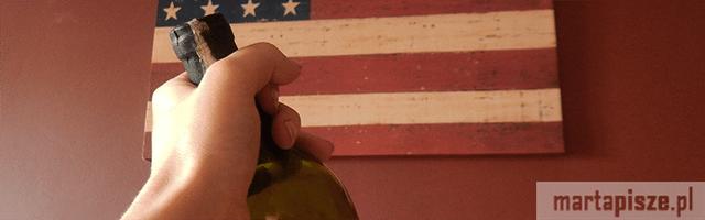 yolo wino flaga usa ameryki stanów zjednoczonych młodzież dziewczyna