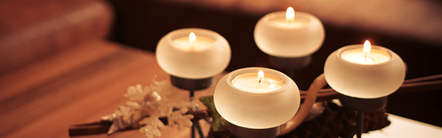 podgrzewacze świeczki w domu klimat wystrój domu sylwester ozdoby impreza