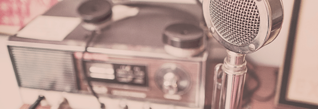 radio mikrofon antena stacja nagrywanie studio