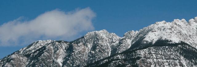 góry zima piękne widoki górskie szczyty niebo chmury rodzaje