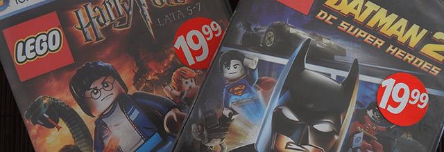 gry biedronka promocje lego harry potter batman przeceny tanio gry 19,99