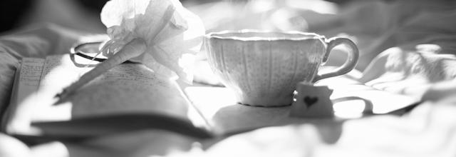 herbata filiżanka oldschool