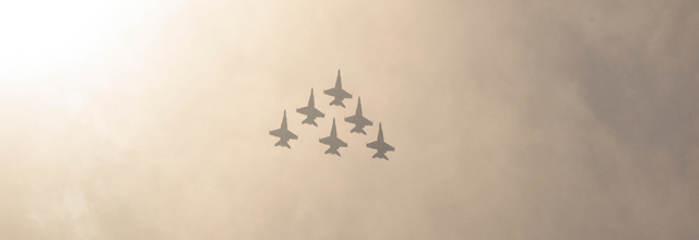 samoloty szybowce niebo