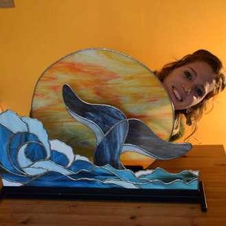 Onda con balena