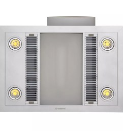 linear 3 in 1 bathroom heater with exhaust fan and led lights [ 1000 x 1000 Pixel ]