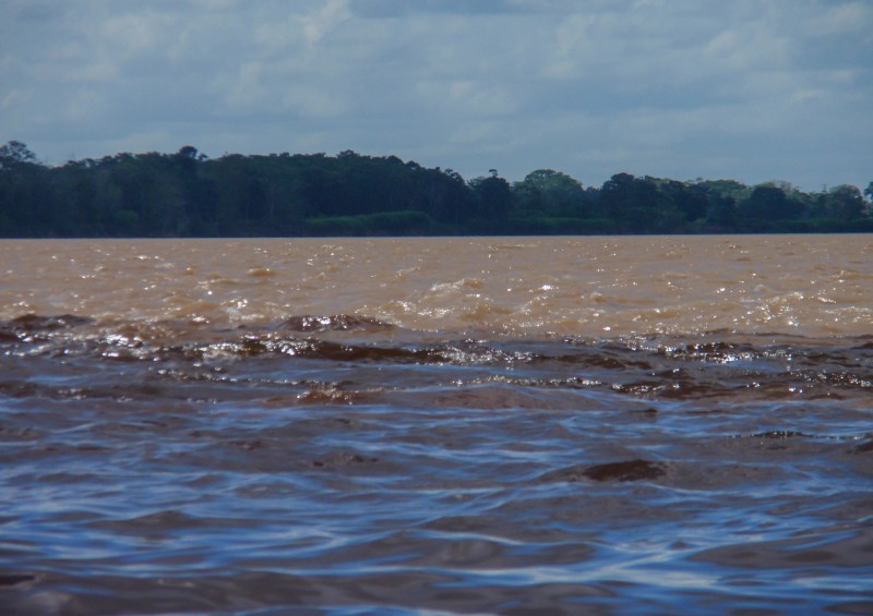 Brazílie, Manaos, Amazonka, Rio Negro [Mart Eslem]