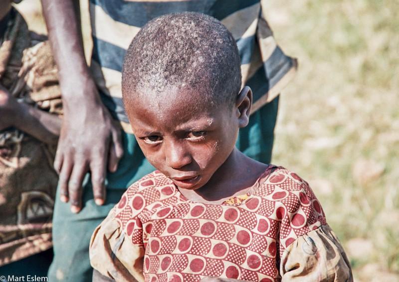 Afrika, Rwanda, chlapec [Mart Eslem]