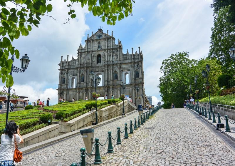 Macao, St. Paul, Cathedral, ruins, Svatý, Pavel [Mart Eslem]