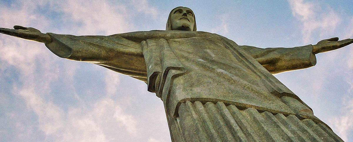 Brazílie, Rio de Janeiro, socha, Krista Vykupitele [Mart Eslem]