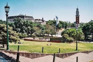 Náměstí Plaza Fuerza Aérea Argentina – Buenos Aires, Argentina [Mart Eslem]