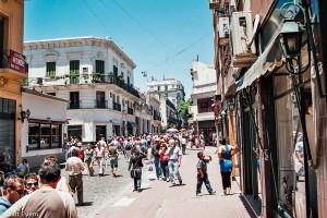 Rušné ulice San Telma – Buenos Aires, Argentina [Mart Eslem]