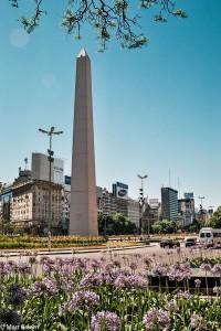 Obelisk – symbol Buenos Aires – Buenos Aires, Argentina [Mart Eslem]