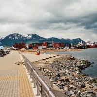 Přístav výletních lodí pro Antarktidu v Ushuaia – Ushuaia, Argentina [Mart Eslem]