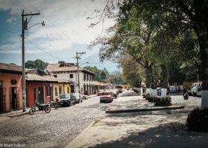 Klidné ulice, Antigua Guatemala (Mart Eslem)
