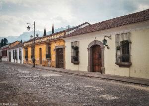 Dlážděné ulice, Antigua Guatemala (Mart Eslem)