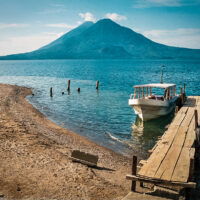Lago de Atitlán, Panajachel, Guatemala (Mart Eslem)