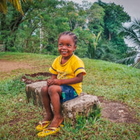 Nová generace Černých Karibů, Livingstone, La Buga, Garifunas, Guatemala (Mart Eslem)