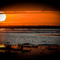 Západ slunce nad Los Llanos (Mart Eslem)