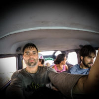 V kokpitu titěrné Cesny na cestě do Národního parku Canaima (Mart Eslem)