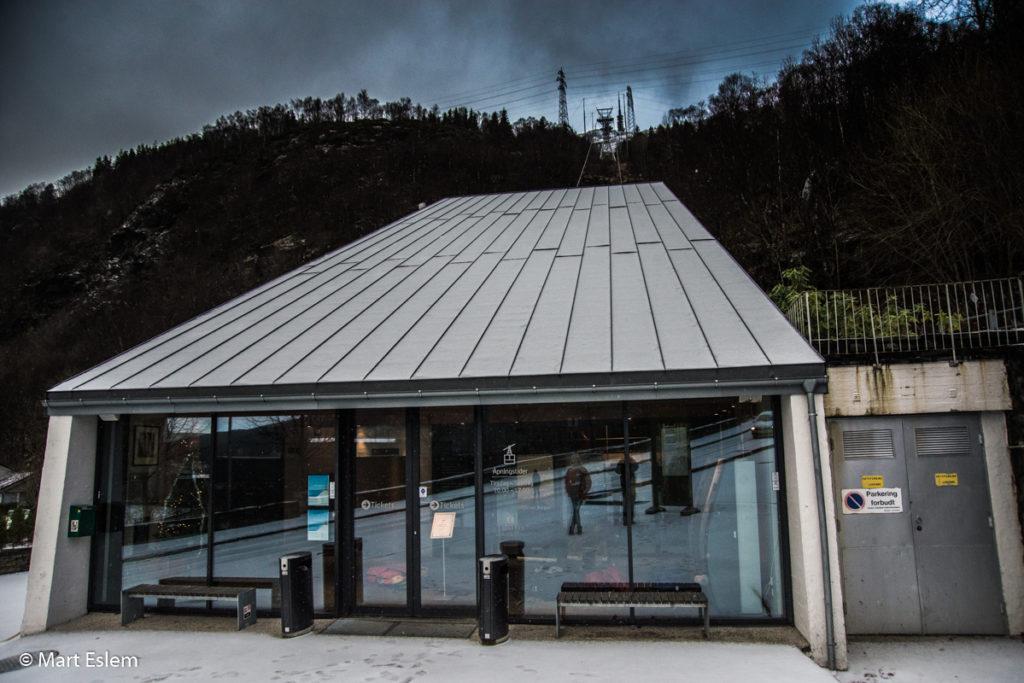Dolní stanice lanovky na horu Ulriken (Mart Eslem)