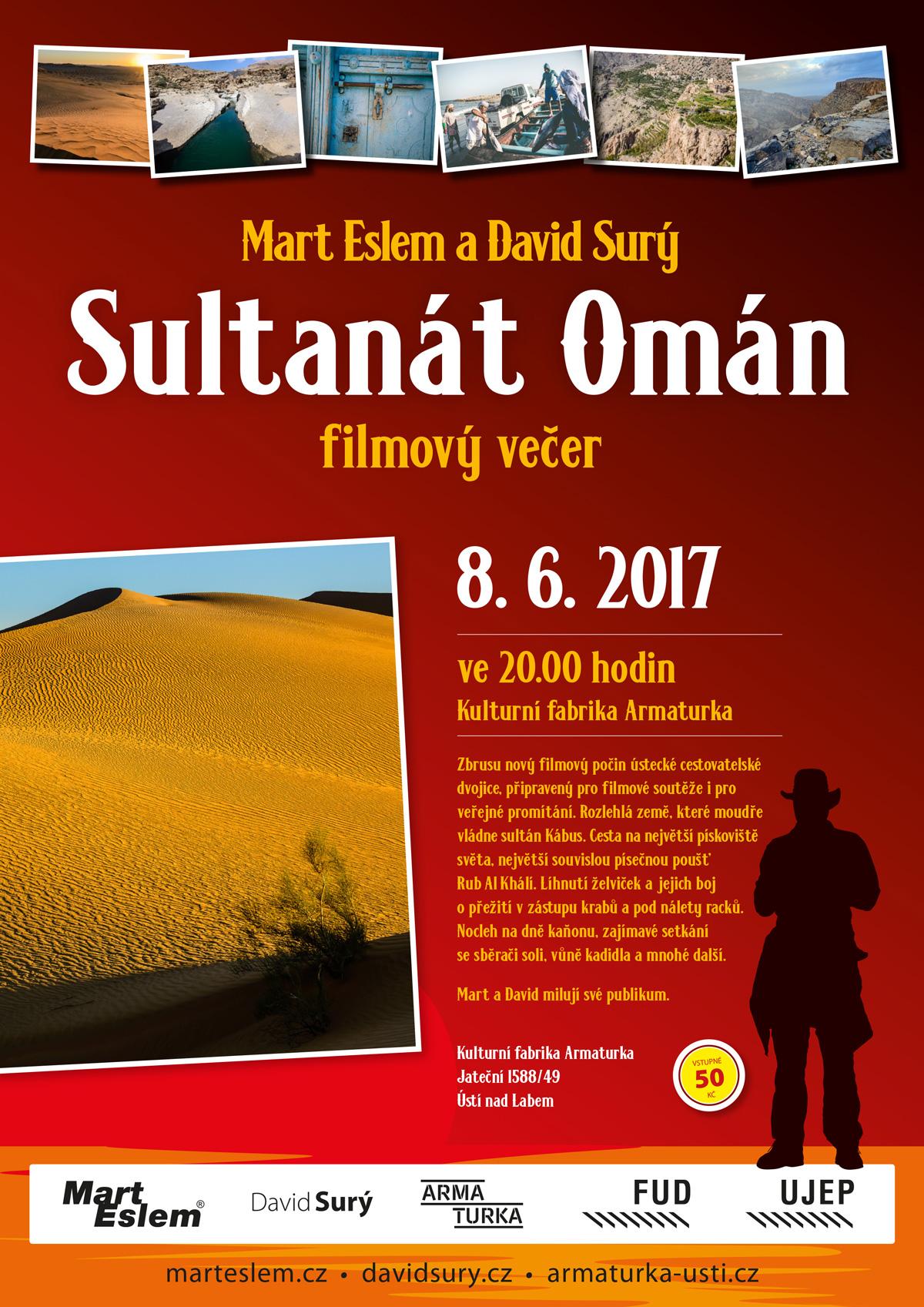 Sultanát Omán FILM David Surý Mart Eslem