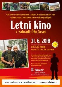 Letní kino mart eslem a david surý zahrada ČRO Sever